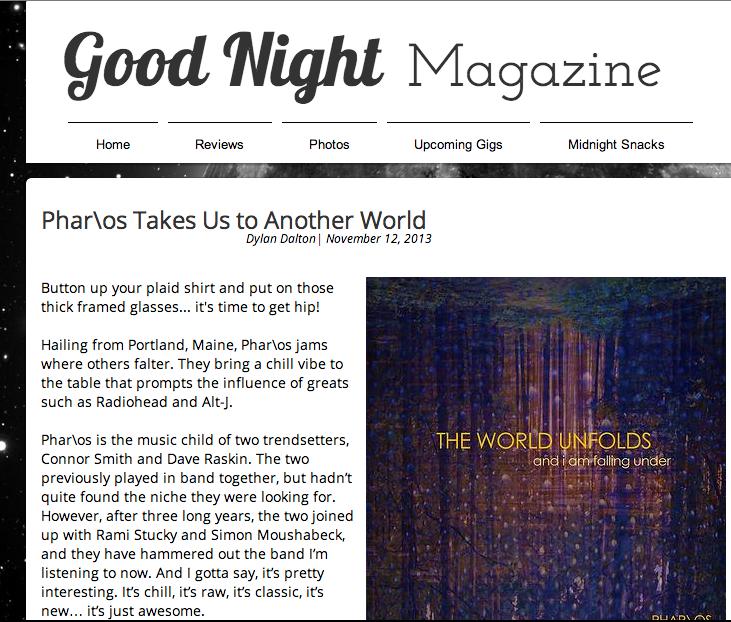 goodnight magazine