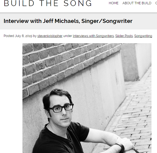 Jeff Michaels Build The Song Interview